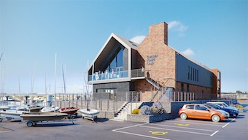 SYC Proposed Club House CGI View 01a 350px
