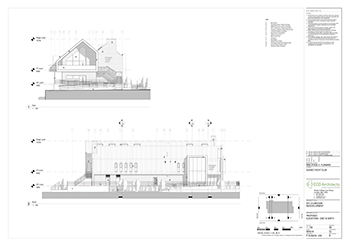 SYC Proposed Club House ELEVATIONS EAST NORTH 350px