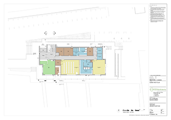 SYC Proposed Club House PROPOSED GROUND FLOOR PLAN 350px
